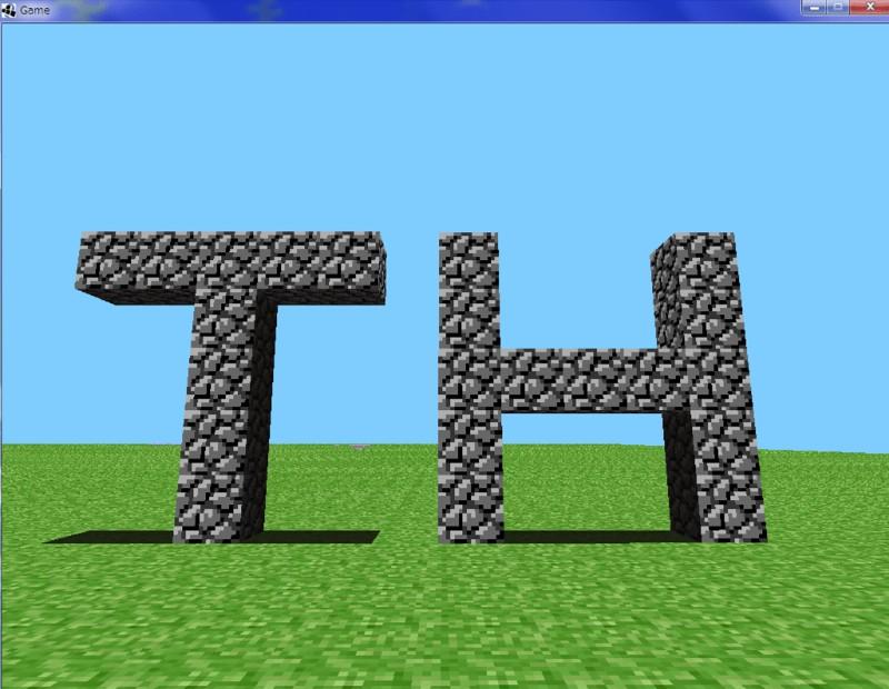 α版】最古のマイクラ、α(アルファ)版!ブロックがたったの2種類 ...