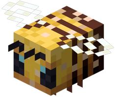 子供のミツバチ