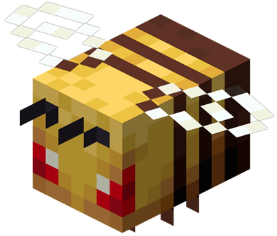 敵対時のミツバチ